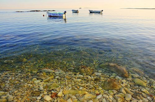 sea adriatic sea deep blue