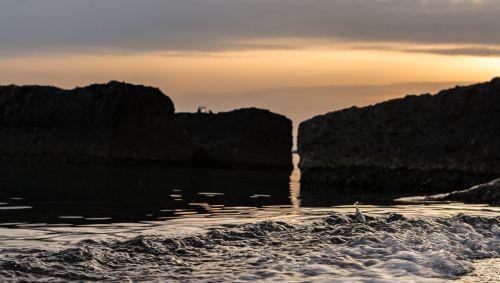 sea stones boulders