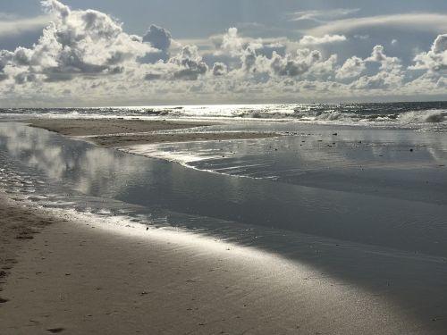 sea beach abendstimmung
