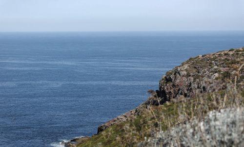 sea cliff coastline