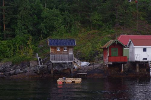 sea chalet norway