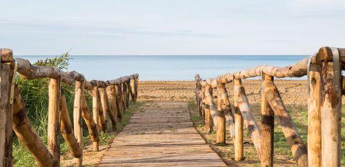 sea beach promenade