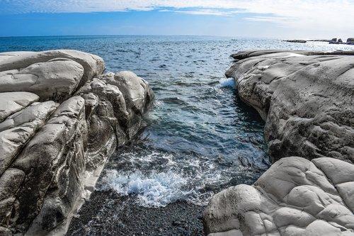 sea  seashore  cove