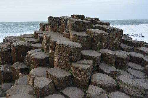 sea  seashore  stone