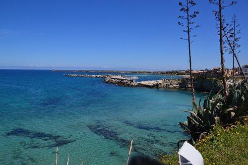 sea  sicily  summer
