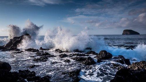 sea  ocean  surf