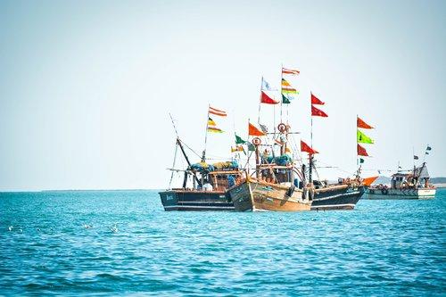 jūra, valtis, jachta, Indijos vandenynas, Arabijos jūra, žvejys, laivas, vandenynas, vėliavos, mėlyna, Indian vėliavos, Indija vėliavos, kelionė, dangus, bliuzo, laivų statyklos, vėjo, jūros vėjai, apvalkalas, Lightroom, matinis, atrodo, rašyti redaguoti, žalias