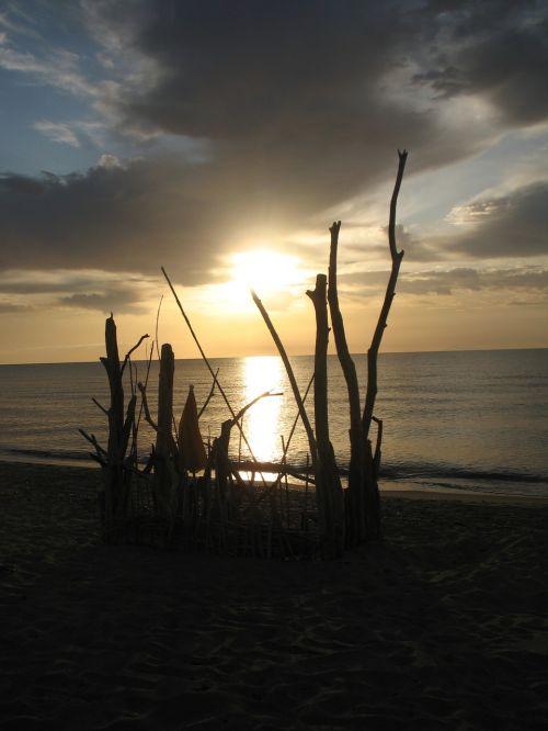 sea corsica sunrise