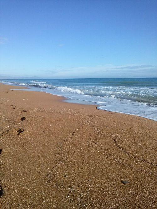 sea sand mediterranean