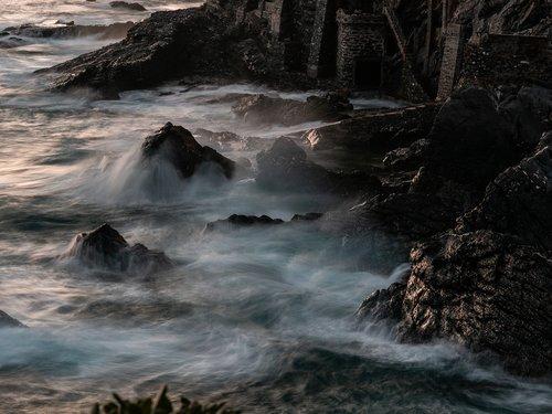 sea  winter  water