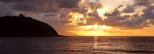sea  sunset  tuscany
