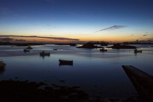 sea night brittany