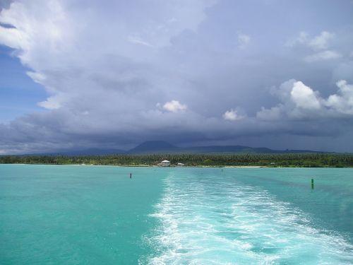 sea turquoise blue