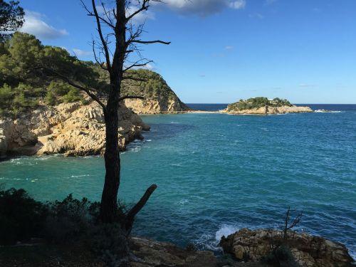 sea cliffs ibiza
