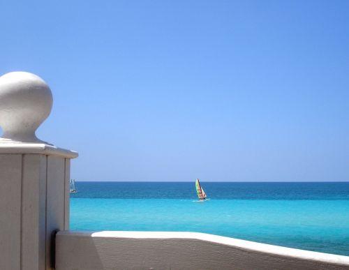 sea sky relax