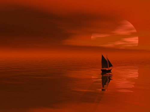 sea nature sky