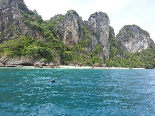 sea rock cliff