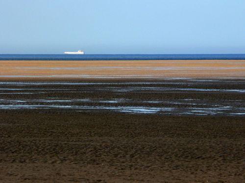 sea sand ship