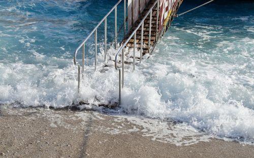 sea bridge footbridge