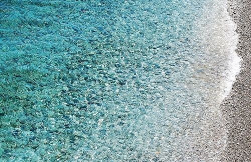 sea beach pebble beach