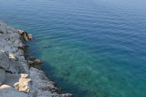 sea croatian coast croatia