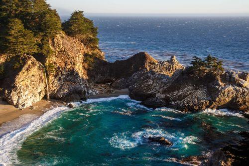 sea rock beach