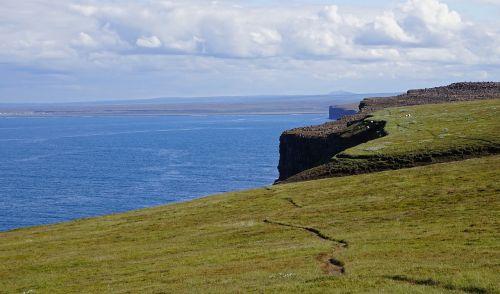 sea coast cliff