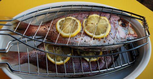 sea bream barbecue fish