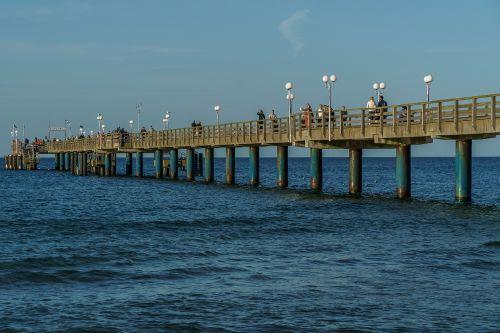sea bridge binz rügen island