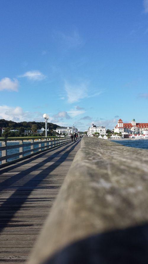 sea bridge baltic sea binz