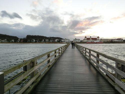 sea bridge binz rügen