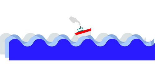 sea condition waves boat