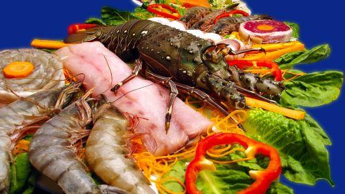 sea food shrimp lobster