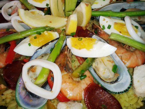 Sea Food Paella 2