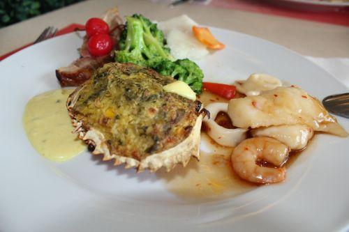 Sea Foods In Plate