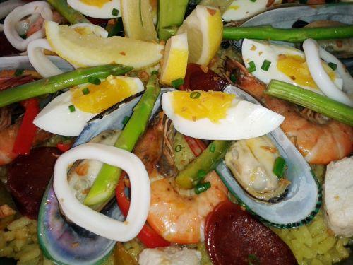 Sea Foods Paella 2