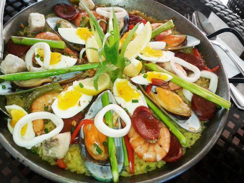Sea Foods Paella