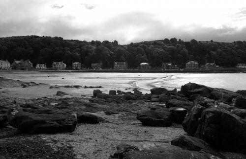 Sea-Shore In Scotland.