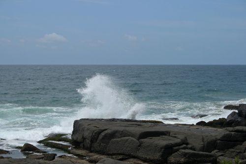 Sea Spray In The Air