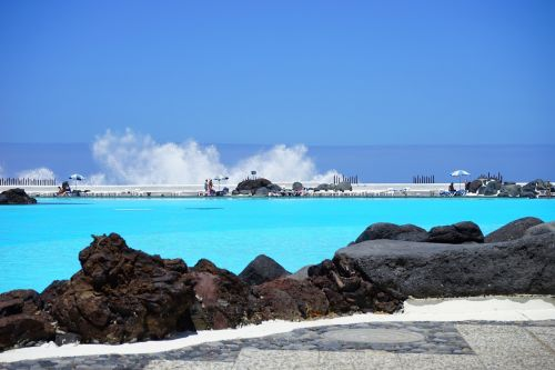 sea water swimming pool swimming pool lago martiánez