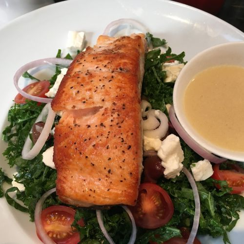 seafood salmon grilled