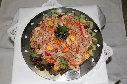 seafood buffet delicacy