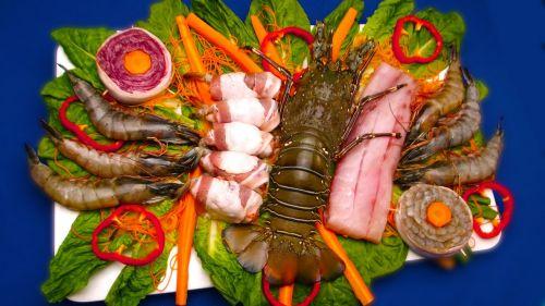 seafood lobster shrimp