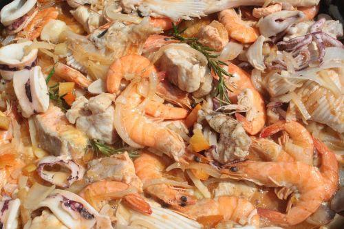 seafood shrimp mediterranean cuisine