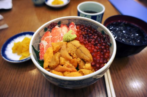 seafood rice kai-sen-dong food