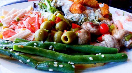 Seafood Salad Bar
