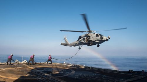 seahawk helicopter refueling