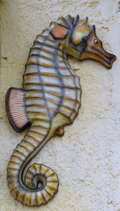 seahorse horse garnish