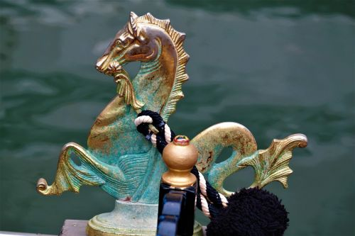 seahorse gondola venice