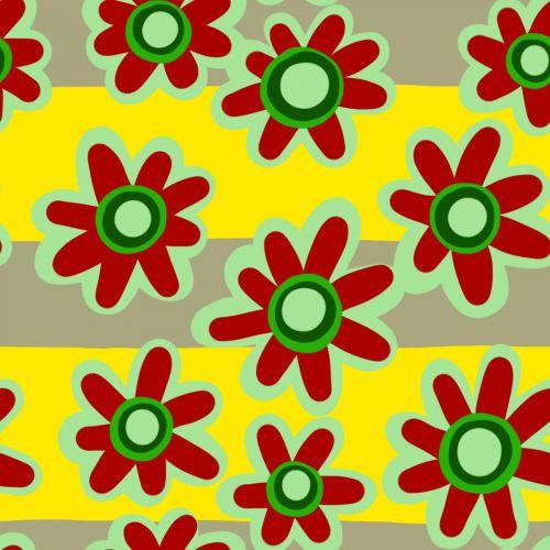 Seamless Flower Tile